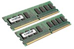 CT2KIT12864AA667 - Crucial DDR2-667 DC - 2GB