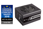CP-9020094-EU - Corsair RM1000x Strømforsyning - 1000 Watt - 135 mm - 80 Plus Gold certified