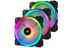 CO-9050072-WW - Corsair LL120 RGB Dual Light 3-pack + Node PRO Kabinet Køler - 120 mm - 24 dBA