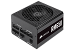 CP-9020194-EU - Corsair RM650 (2019) Strømforsyning - 650 Watt - 135 mm - 80 Plus Gold certified