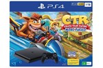 0711719962502 - Sony PlayStation 4 Slim Black - 1TB (Crash Team Racing Nitro-Fueled Bundle)