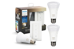 929002216902+929002216904 - Philips Hue White Ambiance Light Recipe Kit E27 - BT + Hue White Ambiance E27 Bulb - BT - 2-pack