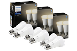 929001821605x3 - Philips Hue White E27 Pære - BT - 3x2-pak