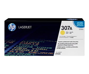 CE742A - HP 307A / CE742A Yellow Toner - Lasertoner Gul