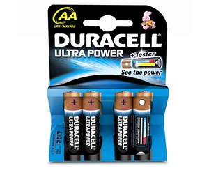 LR6/MN1500 - DURACELL Ultra Power AA - 4 Pack