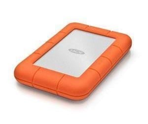 LAC301558 - LaCie Rugged Mini USB 3.0 - Ekstern Harddisk - 1 TB - Orange