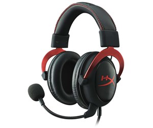 KHX-HSCP-RD - Kingston *DEMO* HyperX Cloud II Headset - Red - Sort