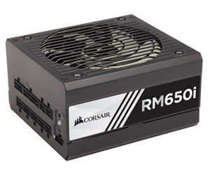 CP-9020081-EU - Corsair RM650i Strømforsyning - 650 Watt - 135 mm - 80 Plus Gold certified