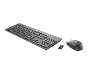 T6L04AA#ABB - HP Slim Wireless Keyboard & Mouse English / T6L04AA#ABB - Tastatur & Mus sæt - Engelsk - Sort