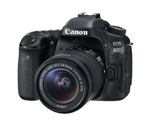 1263C043 - Canon EOS 80D 18-55mm IS STM