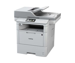 MFCL6800DWZW1 - Brother MFC-L6800DW Laserprinter Multifunktion med Fax - Monokrom - Laser