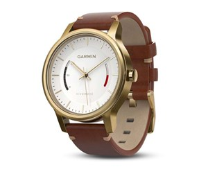 010-01597-21 - Garmin vívomove Premium - Brown/Gold
