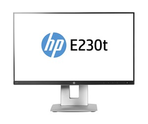 "W2Z50AA#ABB - HP 23"" Skærm EliteDisplay E230t - Sort - 14 ms"