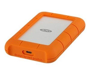 STFR4000800 - LaCie Rugged USB-C - Ekstern Harddisk - 4 TB - Orange