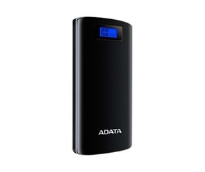 AP20000D-DGT-5V-CBK - A-Data ADATA P20000D Powerbank - Sort - 20000 mAh