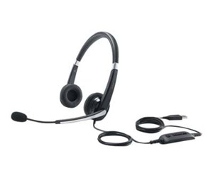 520-AAMC - Dell Pro Stereo Headset UC350 - Sort