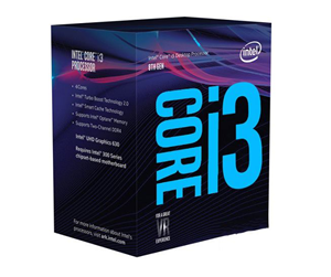 BX80684I38100 - Intel Core i3-8100 Coffee Lake CPU - 4 kerner 3.6 GHz - Intel LGA1151 - Intel Boxed