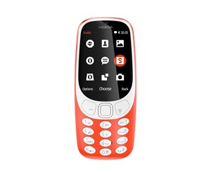 A00028688 - Nokia *DEMO* 3310 (2017) 3G - Warm Red (Dual SIM) (Nordic)
