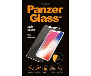 PANZER2626 - PanzerGlass Apple iPhone X - White (Case Friendly)