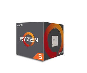YD2600BBAFBOX - AMD Ryzen 5 2600 with Wraith Stealth - Pinnacle Ridge CPU - 6 kerner 3.4 GHz - AMD AM4 - AMD Boxed (PIB - med køler)