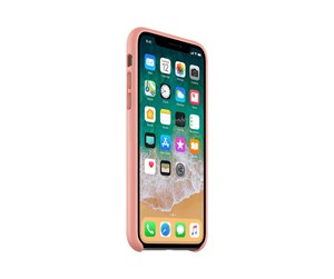 MRGH2ZM/A - Apple iPhone X Leather Case - Soft Pink