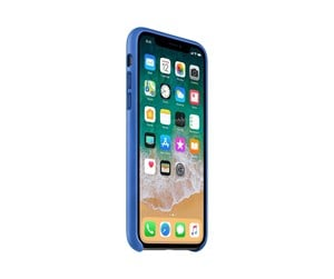 MRGG2ZM/A - Apple iPhone X Leather Case - Electric Blue