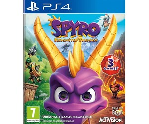 5030917242236 - Spyro: Reignited Trilogy - Sony PlayStation 4 - Platformer