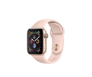 MU682KS/A - Apple Watch Series 4 (GPS) 40mm - Gold Alu with Pink Sand Sportband