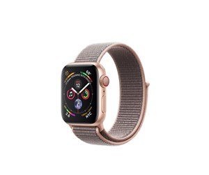 MTVH2KS/A - Apple Watch Series 4 (GPS + Cellular) 40mm - Gold Alu with Sand Pink Sport Loop Band
