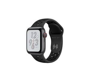 MTXG2KS/A - Apple Watch Nike+ Series 4 (GPS + Cellular) 40mm - Space Grey Alu with Antracit/Black Nike Sport Band