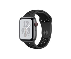 MTXM2KS/A - Apple Watch Nike+ Series 4 (GPS + Cellular) 44mm - Space Grey Alu with Antracit/Black Nike Sport Band