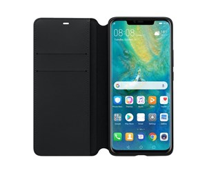 51992636 - Huawei Mate 20 Pro Wallet Cover - Black