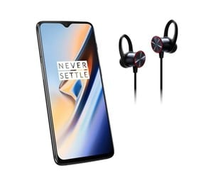 5011100514-BUNDLE - OnePlus 6T 128GB/8GB - Midnight Black incl. Bullets Wireless