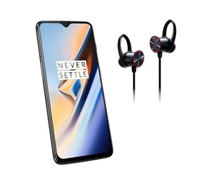 5011100515-BUNDLE - OnePlus 6T 256GB/8GB - Midnight Black incl. Bullets Wireless