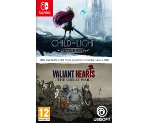 3307216010210 - Child of Light and Valiant Hearts Double Pack - Nintendo Switch - RPG