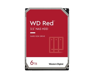 "WD60EFAX - WD Red NAS 60EFAX (SMR) Harddisk - 6 TB - 3.5"" - 5400 rpm - SATA-600 - 256 MB cache"