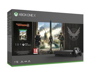 CYV-00263 - Microsoft Xbox One X - 1TB - (The Division 2 Bundle)