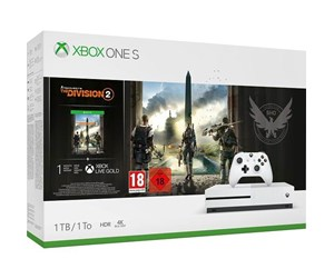 234-00880 - Microsoft Xbox One S - 1TB - (Tom Clancy's The Division 2 Bundle)