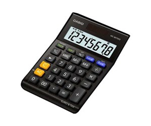 MS-88TERII-BK - CASIO MS-88TERII - desktop calculator