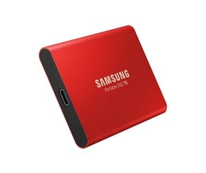MU-PA500R/EU - Samsung Portable SSD T5 Red - 500GB