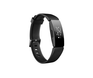 FB413BKBK - Fitbit Inspire HR - one size - black