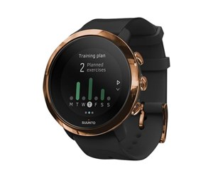 SS050209000 - Suunto 3 Fitness - copper - activity tracker with strap - black/rosegold