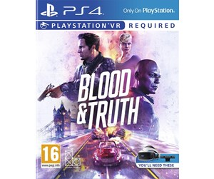 0711719998198 - Blood & Truth - Sony PlayStation 4 - Action