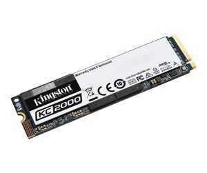 SKC2000M8/500G - Kingston KC2000 M.2 NVMe - 500GB