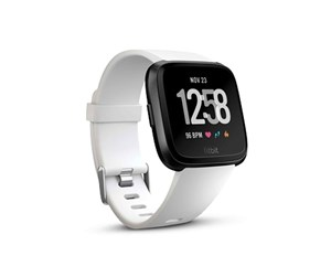 FB505GMWT-EU - Fitbit Versa - smart watch with band - Black/White