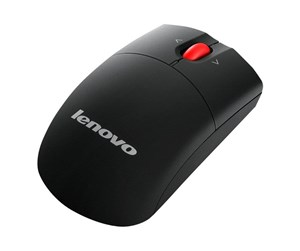 0A34282 - Lenovo - mouse - 2.4 GHz - Mus - Laser - Sort