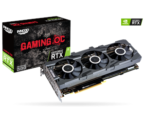 N208S3-08D6X-1180VA24 - Inno3D GeForce RTX 2080 SUPER Gaming OC X3 - 8GB GDDR6 RAM - Grafikkort