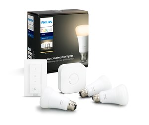 929001821604 - Philips Hue White 3xE27 Pærer + Switch Starter Kit - BT