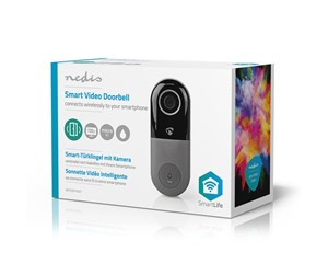 WIFICDP10GY - Nedis Wi-Fi Smart Video Doorbell