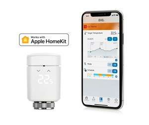 10EBH1701 - Eve Thermo - Connected Radiator Valve for Apple HomeKit